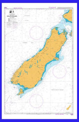 NZ Marine Chart - South Island #25