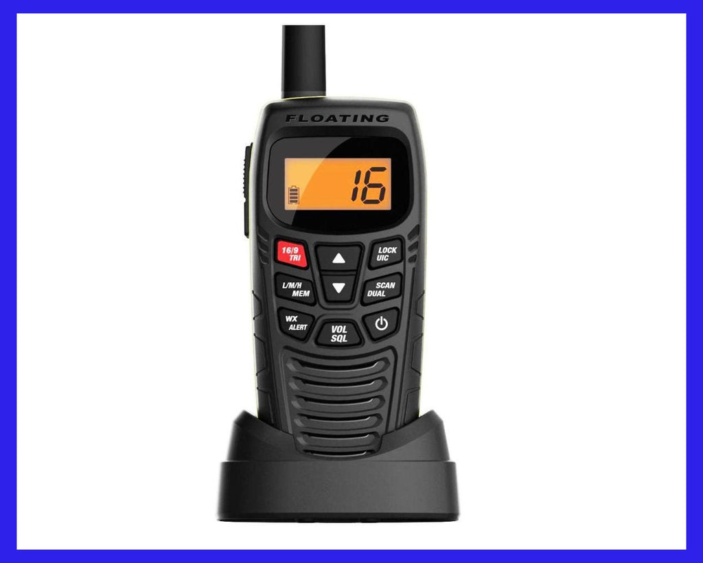 ATLANTIS 270 Handheld Floating Two-Way VHF Marine Radio