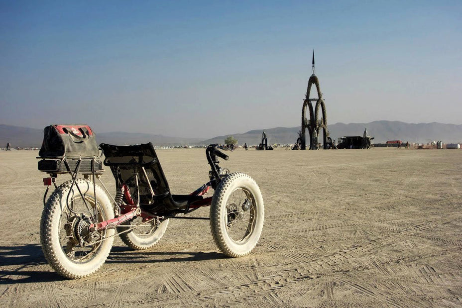 Electric Bike Conversion Kits at Burning Man