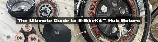The Ultimate Guide to E-BikeKit Hub Motors