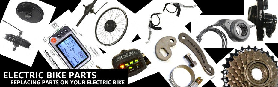 Electric Bike Parts, what fits my older electric bike? What can I modify to fit my bike?