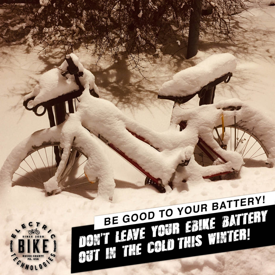 Caring for Your Electric Bike or Trike this Winter
