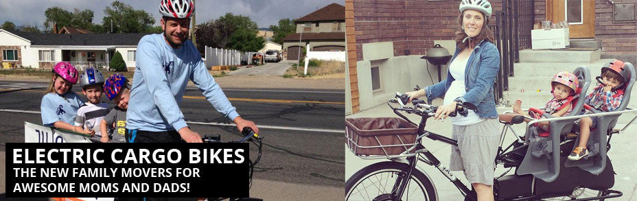 Electric Cargo Bikes - A Nice Way to Get Around! title=