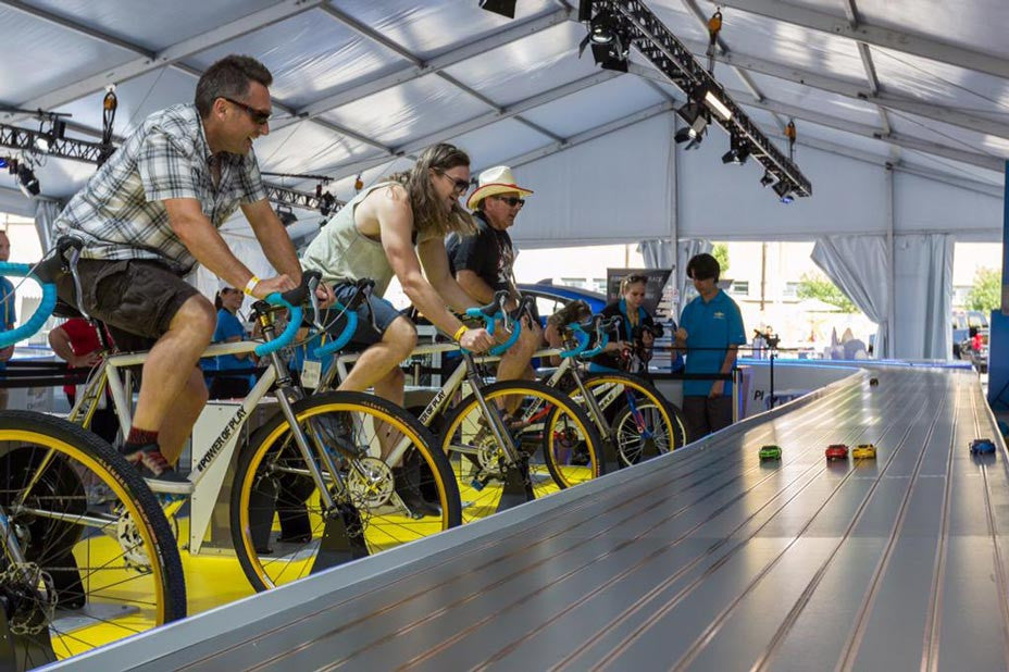 GM uses E-BikeKit hub motors at the Pan American Games! title=