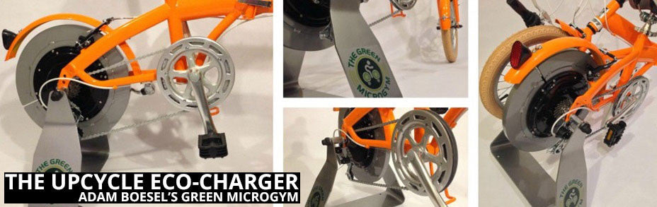 UpCycle Eco-Charger - A Powerful Bicycle Generator title=