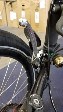 Locking e-brake handle from E-BikeKit