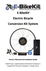 E-BikeKit™ Owner's Manual
