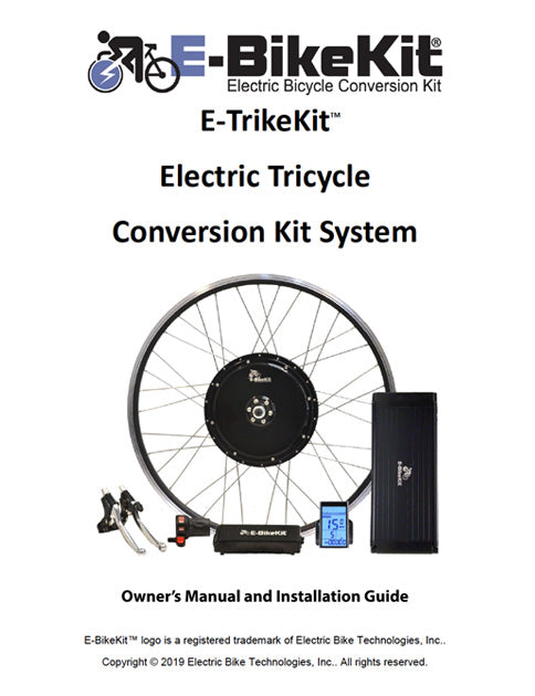E-TrikeKit Owners Manual