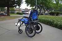Montels' Electric Hiking Stroller 2
