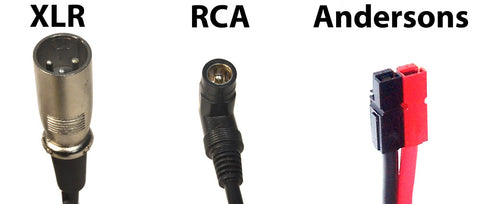 XLR RCA and Andersons