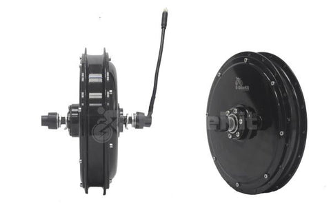 Rear 500w Heavy-Duty, Direct-Drive Motor