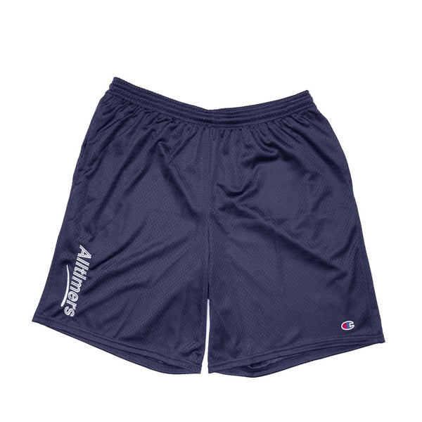 ESTATE EMBROIDERED SHORTS NAVY