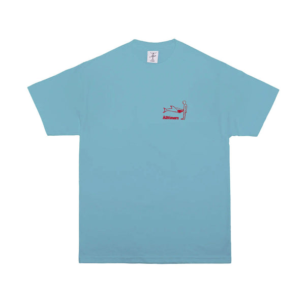 SHARK DICK TEE PACIFIC BLUE