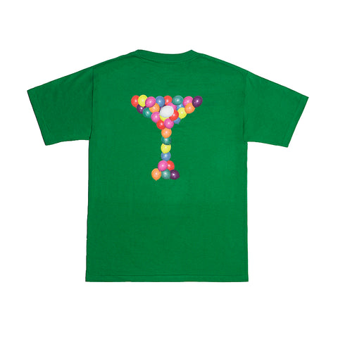 HELIUM TEE KELLY GREEN
