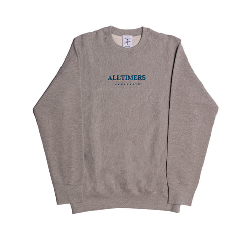 MANIFESTO PREMIUM CREW HEATHER GREY