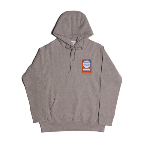 PASS PREMIUM HOODY HEATHER GREY