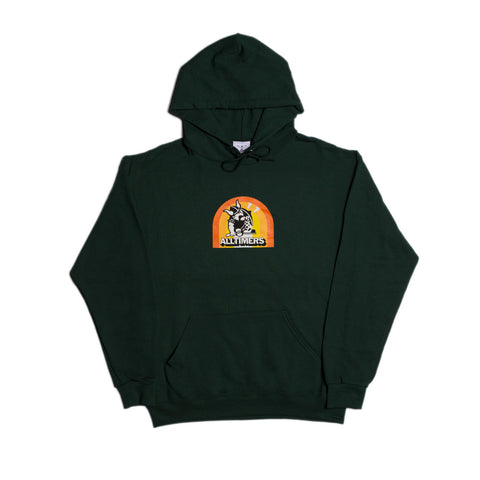 FLEX HOODY FOREST GREEN