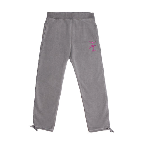 LEAGUE PLAYER SWEATPANTS OVERWASH GREY