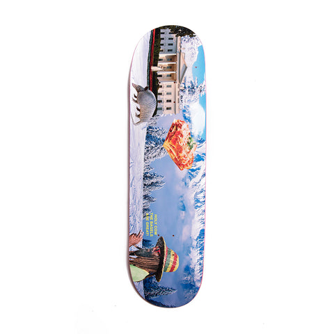 CONFUSING TOURISM SNOW BOARD 8.5""