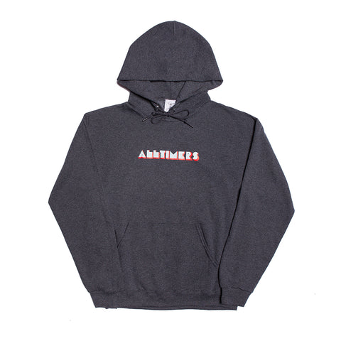 EURO HOODY BLACK HEATHER