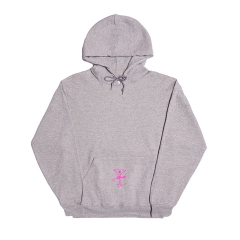 LEAGUE PLAYER HOODY HEATHER GREY