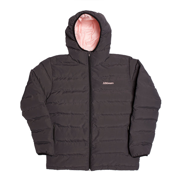 FRIENDS PUFFER JACKET GREY/ROSÈ