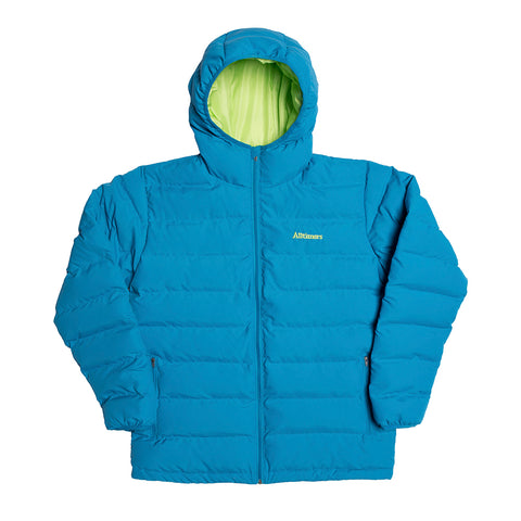 FRIENDS PUFFER JACKET BLUE/GREEN