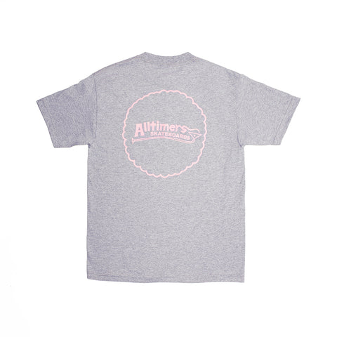 KEEN TEE HEATHER GREY