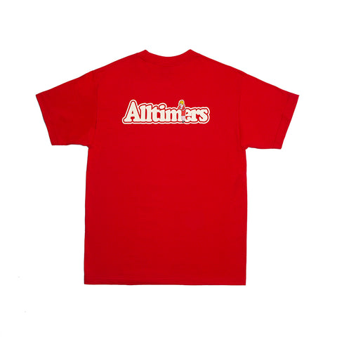 BROADWAY TEE RED