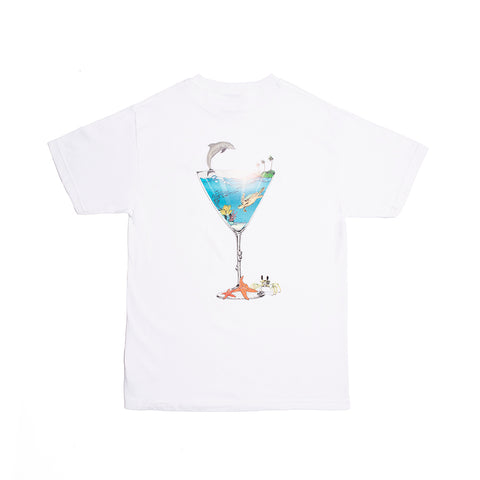 TROPICAL FANTASY TEE WHITE