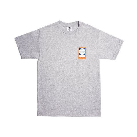 PASS TEE HEATHER GREY
