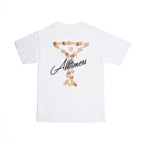 BAR MIX TEE WHITE