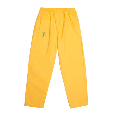 YACHT RENTAL PANTS YELLOW