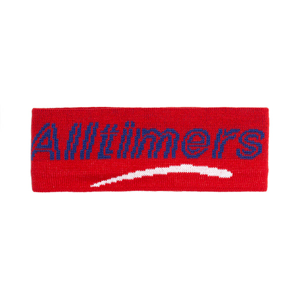 HEADBANDZ EAR WARMER RED