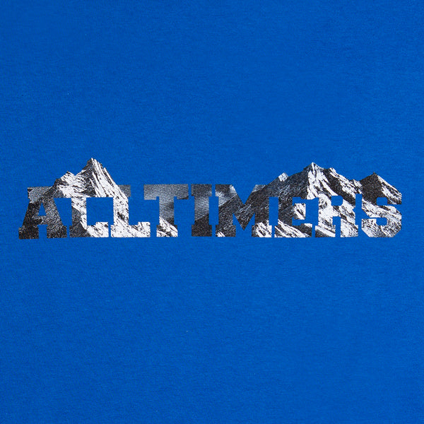 ROCK PLANET LONGSLEEVE TEE ROYAL BLUE