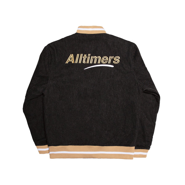 LEAGUE VARSITY JACKET BLACK