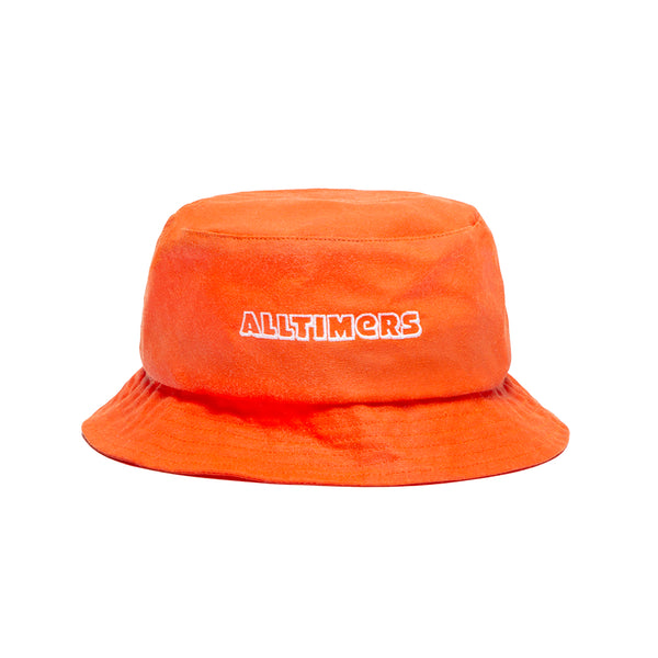 CHORIZO BUCKET HAT ORANGE