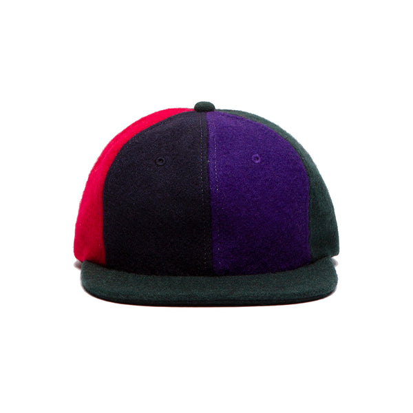 LOVERS LEFT HAT NAVY/PURPLE/BROWN/BLACK