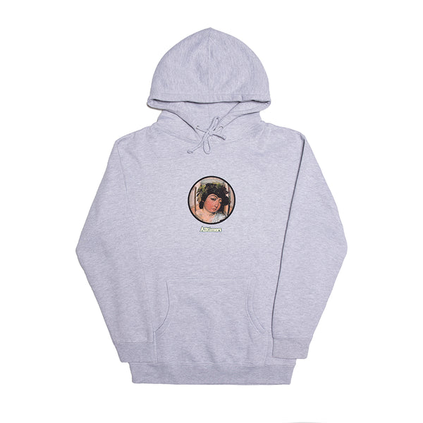 2AM WINE GOD HOODY HEATHER GREY