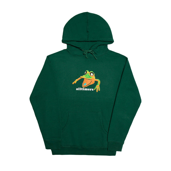 POPPED MONSTA HOODY FOREST GREEN
