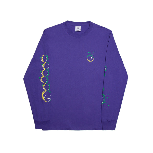 LIL BUDDY LONGSLEEVE TEE PURPLE
