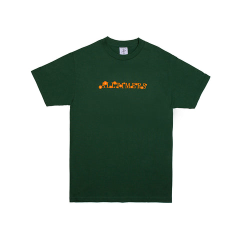 CORE SKATER TEE FOREST GREEN
