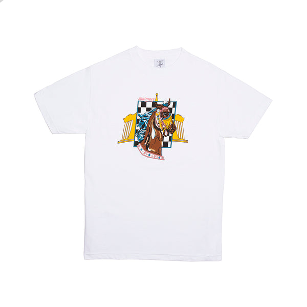 GIDDY UP TEE WHITE