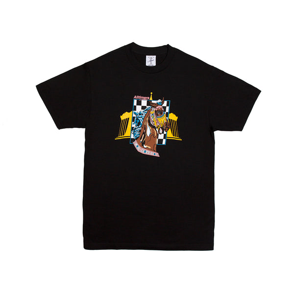 GIDDY UP TEE BLACK