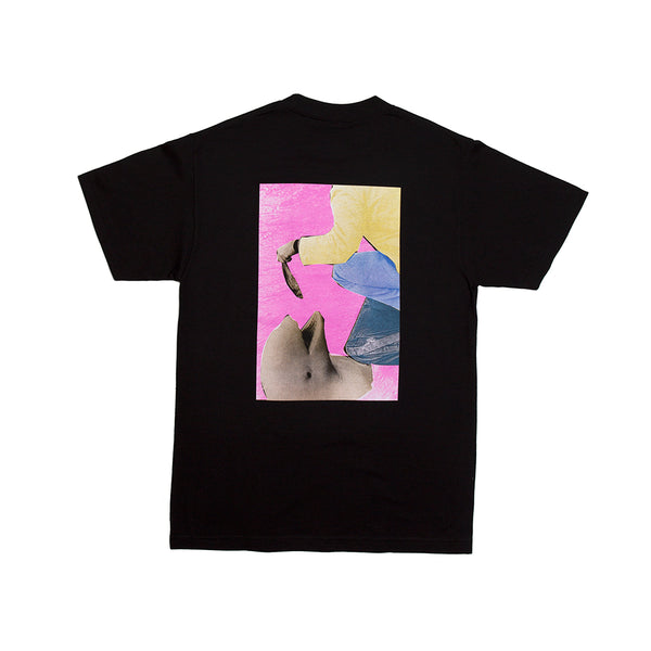 FISH FEED TEE BLACK