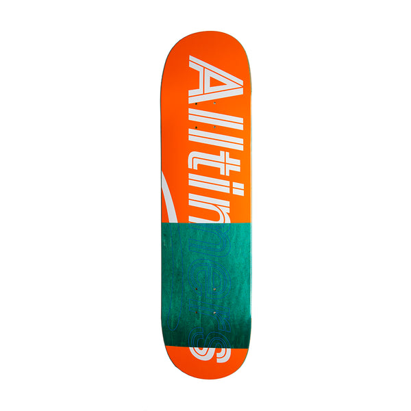 TRACE LOGO BOARD ORANGE 8.1""