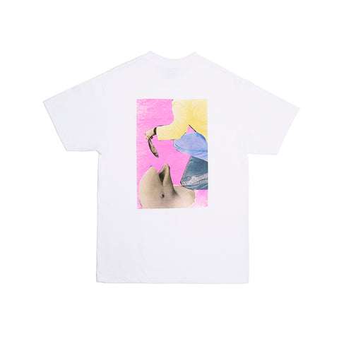 FISH FEED TEE WHITE