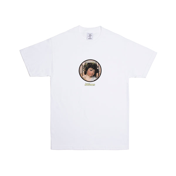 2AM WINE GOD TEE WHITE