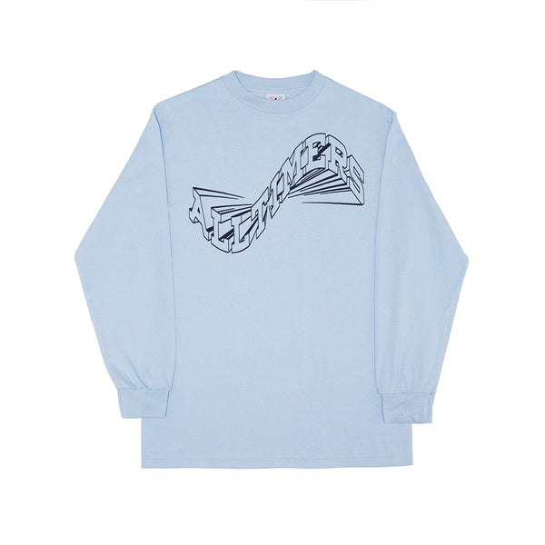 WAVERLY LONGSLEEVE TEE POWDER BLUE