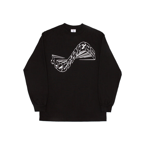 WAVERLY LONGSLEEVE TEE BLACK